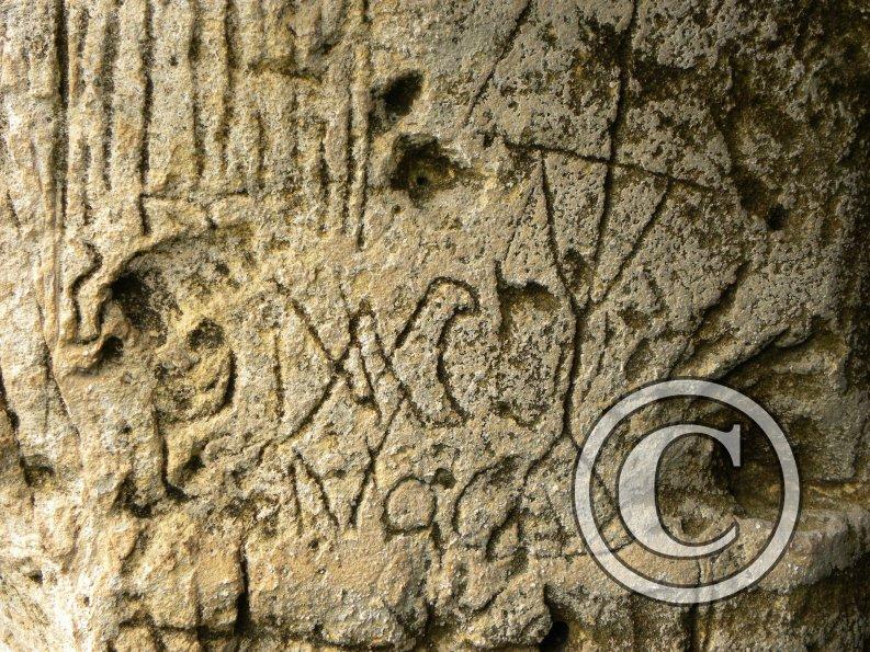 Monogramma di maria voca chiama la simbologia delle - Pagine da colorare croci ...